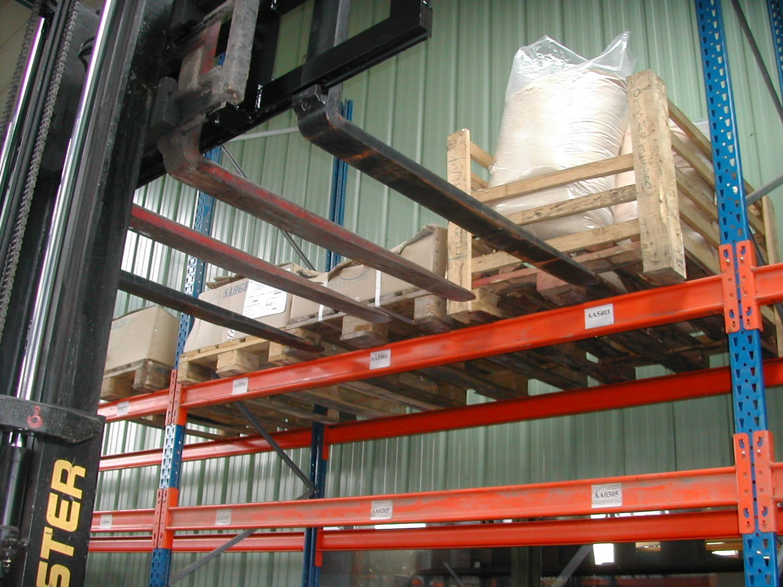 4 Pallets fork carriage