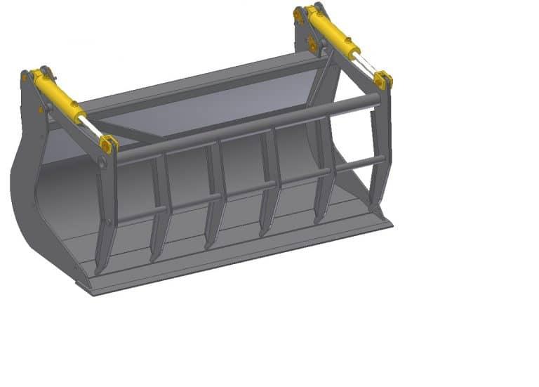 Compact multi purpose bucket