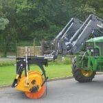 Aero'sweep  swathing sweeper