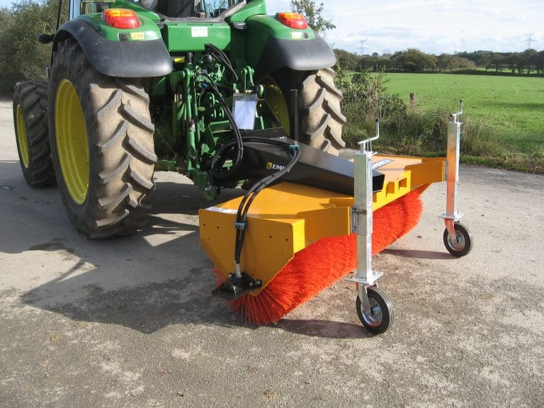 Agri sweep swathing sweeper