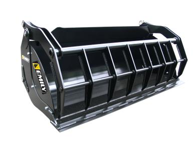 Top Compact Bucket intensive usage with large capacity