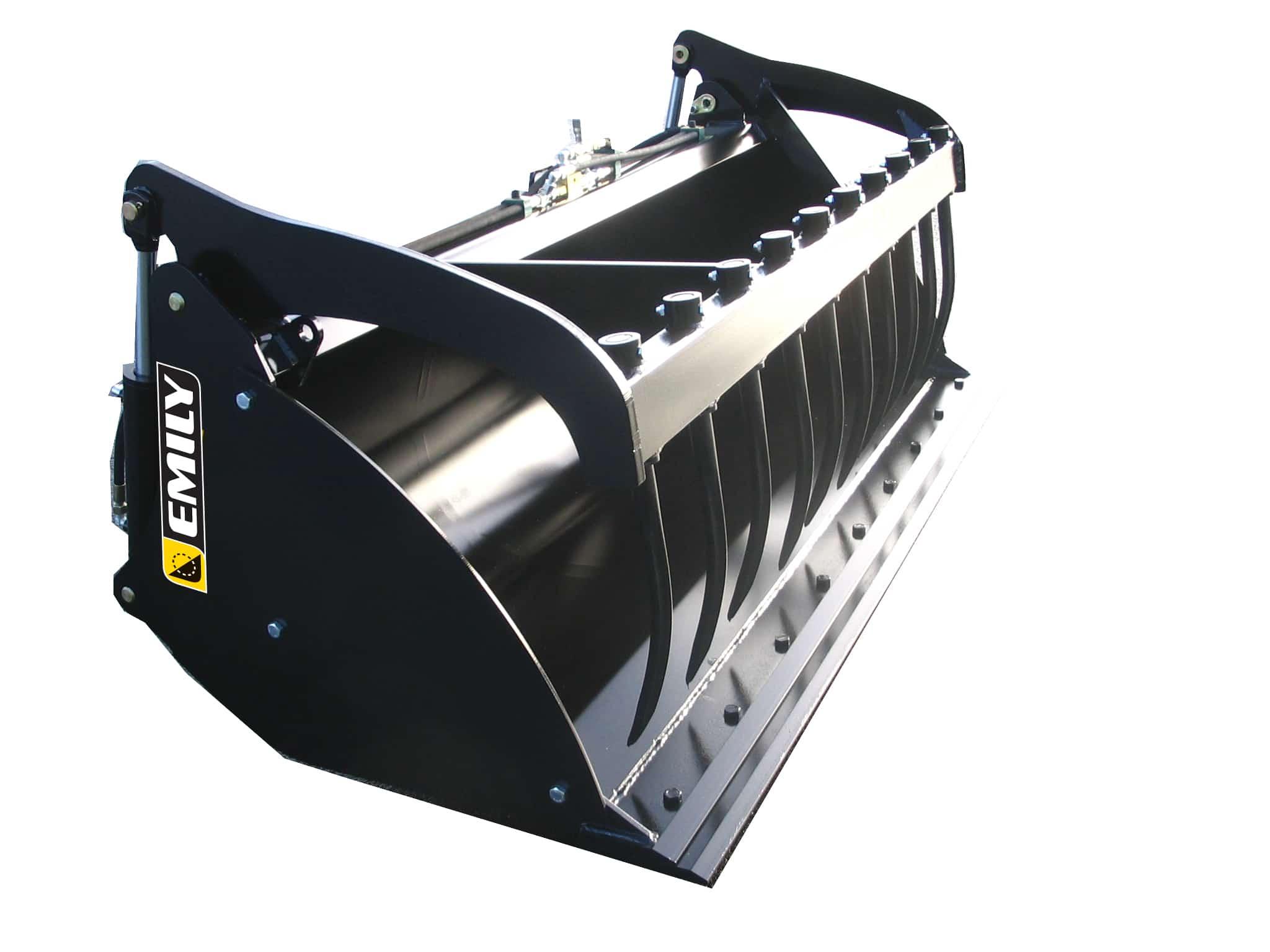 Multi purpose Bucket with rear rams