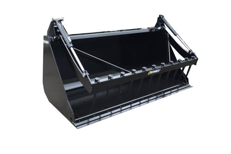 Large capacity bucket with grab