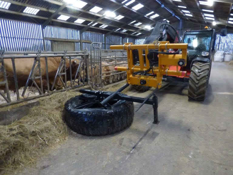 Pick & go Silage Pusher